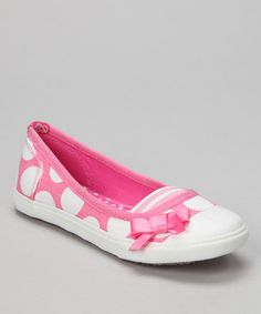 Take a look at this Pink L'Koral Flat by Sugar Shoes on #zulily today!
