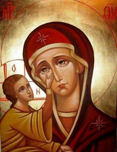 Diamond Embroidery Religious Mather And Son Diy Diamond Painting Diamond Mosaic Needlework Crafts Canvas Pictures Rhinestones Jesus Pictures, Painting, Orthodox Christian Icons, Christ Child, Diamond Mosaic, Art, Our Lady Of Sorrows, Canvas Pictures