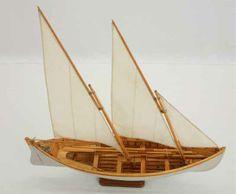 Modell französisches Whaler, 19. Jahrhundert