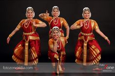 One dancer in multiple poses