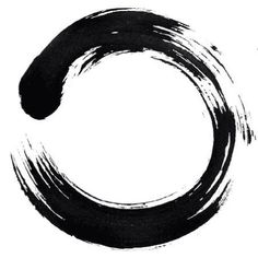 While surfing the web tonight I came across a magnificently simple Zen image that transfixed my mind. Of course I've seen ensō before (Zen circles)–kind of hard to miss since I live in…