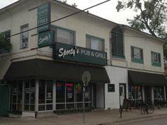 Sporty's Pub & Grill | 2124 Como Ave SE Minneapolis. Back alley fun! Come and visit!