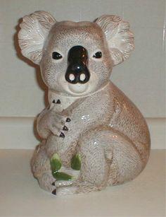 Koala Cookie Jar made in USA by Treasure Craft