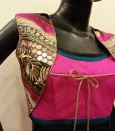 Buy pink colored blouse blouse online