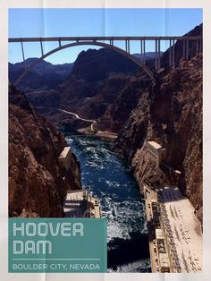 The Hoover Dam is a must see if you are in Las Vegas, its located in Boulder City, NV.  Simply beautiful