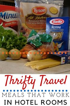 hotel hacks Thrifty Travel Meals that Work for Hotel Rooms Vacation Meal Planning, Vacation Ideas, Vacation Pics, Vacation Food, Beach Vacation Meals, Weekend Vacations, Family Vacations, Family Travel, Living In A Hotel
