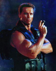 Retired Delta Force Operative Colonel John Matrix - 'Commando' - Arnold Schwarzenegger - 1985