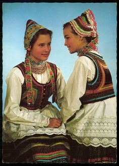 Traditional costumes from Sióagárd, Hungary Tribes Of The World, Hungarian Embroidery, Folk Costume, People Around The World, World Cultures, Traditional Dresses, Fashion Art, Clothes, Folk Clothing