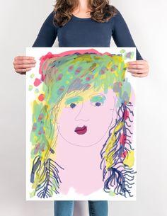 Art Classes & Workshops Jacqueline van der Venne 'like' Monotype, Screen print, art education, painting, web design, graphic design 'share'