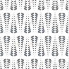 Abstract Alternating Fern Leaves Decorative by CreativeStencils, $14.95