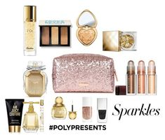 """#PolyPresents: Sparkly Beauty"" by amalilly619 ❤ liked on Polyvore featuring beauty, Bobbi Brown Cosmetics, Burberry, Guerlain, Too Faced Cosmetics, Givenchy, Christian Dior, Victoria's Secret, Juicy Couture and contestentry"
