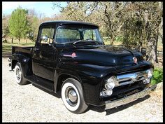 F56 1956 Ford F100 Pickup 302 CI, Fresh Restoration Photo 1