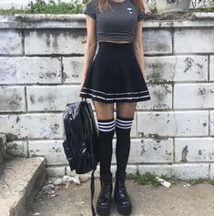 Monthly outfit sale - designer recommend outfit set в 201 Lila Outfits, Edgy Outfits, Mode Outfits, Grunge Outfits, Grunge Fashion, Skirt Outfits, Fashion Outfits, Formal Outfits, Emo Fashion