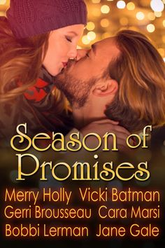 Title: Unexpected Holiday Bonus by Merry Holly Box Set Title: Season of Promises Author: Merry Holly, Vicki Batman, Gerri Brousseau, Cara Marsi, Jane Gale, Bobbi Lerman Genre: Holiday Romanc…