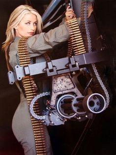 「Heavy machine gun and sexy girls」の画像検索結果 Big Guns, Cool Guns, Armas Wallpaper, Pin Up, Military Women, Military Army, N Girls, Guns And Ammo, Hand Guns