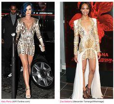 Katy Perry vs. Zoe Saldana