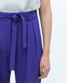 LOOSE-FIT TROUSERS from Zara