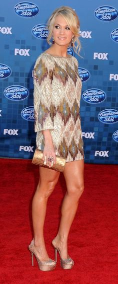 Sexy-Hot, Leggy, & Beautiful Carrie Underwood!!!
