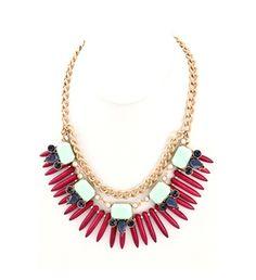 Ashley Mint Necklace