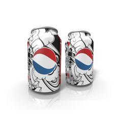 love the design of the can and Pepsi logo