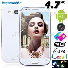 """(NO.1) S5 4.7"""" IPS Capacitiva Táctil Android 4.2.1 OS MTK6589 4-Core 3G Smart Phone+ WiFi+ 13MP CAM (1GB RAM + 4GB ROM) P07-S5N http://www.tinydeal.com/es/no1-s5-47-ips-mtk6589-4-core-android-421-3g-phone-p-95830.html"""