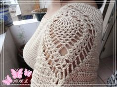 crochet blouse with diagram pattern