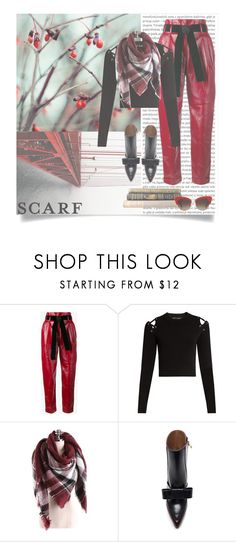 """""""RED is the new BLACK"""" by infinite-sea ❤ liked on Polyvore featuring Oris, Philosophy di Lorenzo Serafini, Proenza Schouler, Marni and Dolce&Gabbana"""