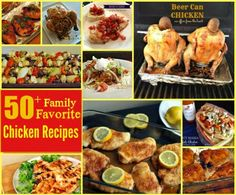 50+ Family Favorite Chicken Recipes The perfect meal planning resource! Nearly 2 months of recipes here!