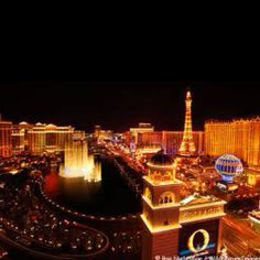 Las Vegas - Just an amazing place. Got married here and had the best two weeks EVER! ♥