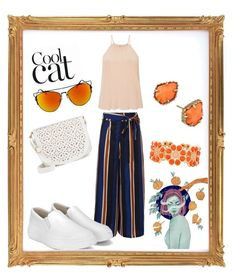 """casual chill. peace vibes"" by hedeml on Polyvore featuring Under One Sky, Kendra Scott, Liz Claiborne and Miss Selfridge"