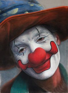 7a9bb32d595 Traditional Expression Painting by Ruben Belloso Adorna - I. Beverly Rickey  · VINTAGE Circus--Carnival