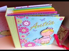 How to make an Easy Scrapbook Mini Album for Beginners | Luisa PaperCrafts - YouTube