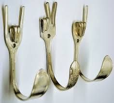 Fork Hooks! Who would have thunk it?! We know a fabulous maker who could make amazing versions of these