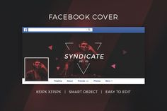 Facebook DJ Cover v8 by Micromove on @creativework247