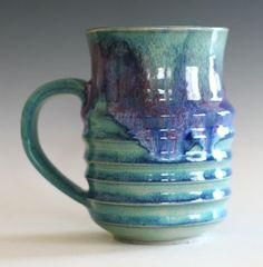Coffee Mug, 16 oz, handmade ceramic cup, ceramic stoneware mug, coffee cup
