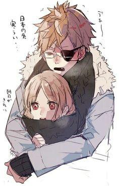 Diabolik Lovers_Shin Tsukinami, Yui Komori.
