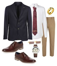 """""""Reuben and Barry's Rehearsal Dinner- Mr. Franklin"""" by jporter2 ❤ liked on Polyvore featuring Joseph, FAY, Tagliatore, Vivienne Westwood, Gordon Rush, Brooks Brothers, Bling Jewelry, Tommy Hilfiger, men's fashion and menswear"""