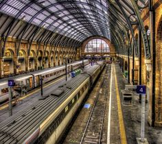 Kings Cross Station Platforms