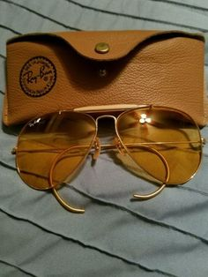 a8f3435210 vintage bausch lomb rayban sunglasses