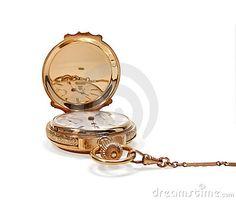 Beautiful vintage gold pocket watch