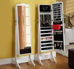Cupónica | Espejo Alhajero ¡Guardá toda tu bijouterie c/glamour! ¡Ahorrá espacio!