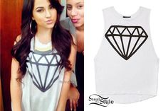 Becky G's Clothes & Outfits | Steal Her Style | Page 10<<< Shine bright like a diamond....