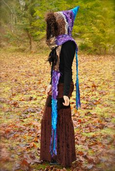 FestivaL Hood, Women's Scoodie, Pixie, Gypsy Scoodie, Pixie Hood, Hippie Hoodie, Gypsy Clothes by Intergalactic Apparel