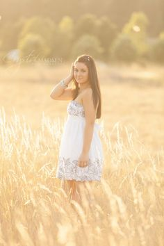 Senior Picture Ideas For Girls Outside | Carissa's High School Senior Photos, A Spokane Photographer - Crystal ...