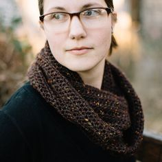This handmade infinity scarf is cozy and delightful. Made of 100% pure wool, this piece will keep you warm and stylish through the winter.    One
