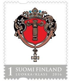 Vaasan vaakuna, Suomi Finland 2016 Postage Stamps, Finland, Cards, Collection, Design, Stamps, Paper Envelopes, Map, Design Comics