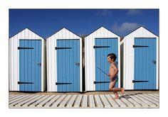 Cabines de plage - Saint-Gilles-Croix-de-Vie, Pays-de-la-Loire