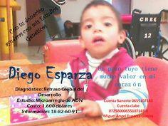 La #colecta en el Estadio del sábado 23 de febrero es a favor del niño Diego Alejandro Esparza Castillo, quien padece Retraso Global en el Desarrollo. #Donativos a la cuenta 0655107143 de Banorte, CLABE 07258000655107143-8