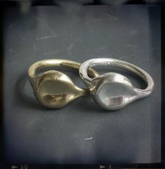 Ring in Brass or Sterling Silver - Petra - Joanna Morgan Designs #ring #jewelry #fashion
