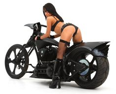 hermosas mujeres en motos